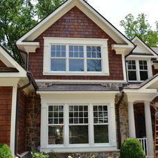 Traditional Exterior by James McDonald Associate Architects, PC