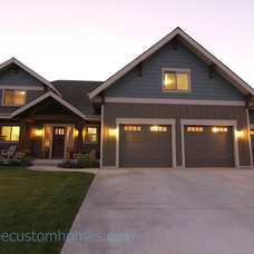 Traditional Exterior by Jesse Lee Custom Homes