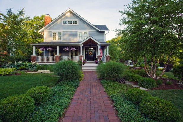Traditional Exterior by Grant and Power Landscaping
