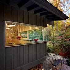 Modern Exterior by Louis Cherry, FAIA Architect