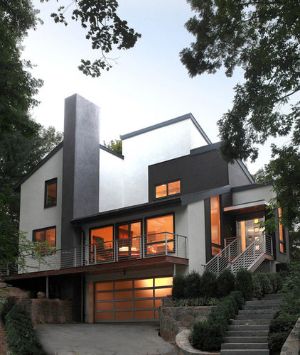 Contemporary Exterior by Saniee Architects llc