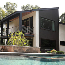 Modern Exterior by Saniee Architects llc