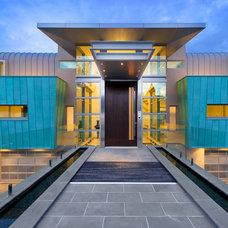 Contemporary Exterior by JJC Design P/L