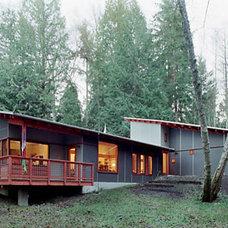 Modern Exterior by DeForest Architects