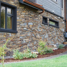 Eclectic Exterior by KGO STONE, The Natural Stone Company