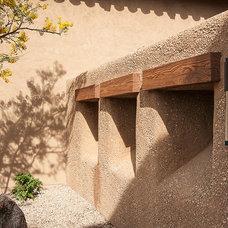 Mediterranean Exterior by Tate Studio Architects
