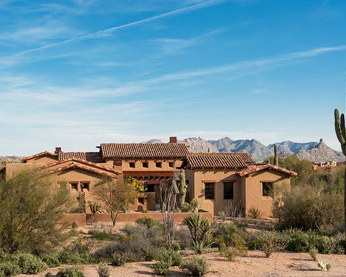 New mexico territorial style houzz for Territorial home design