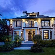 Traditional Exterior by Heffel Balagno Design Consultants