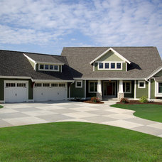 Traditional Exterior by Highland Builders LLC