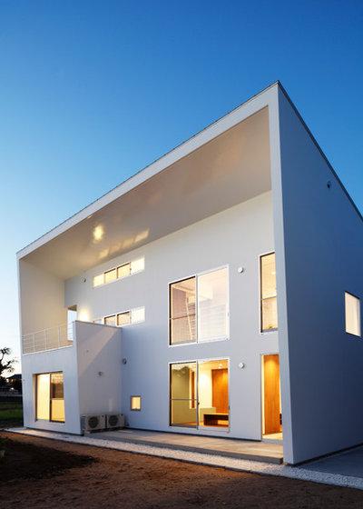 コンテンポラリー 家の外観 by 吉デザイン設計事務所(Kichi Architectural Design)