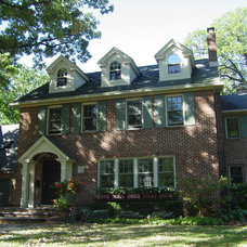 Traditional Exterior by Vintage Design, LLC