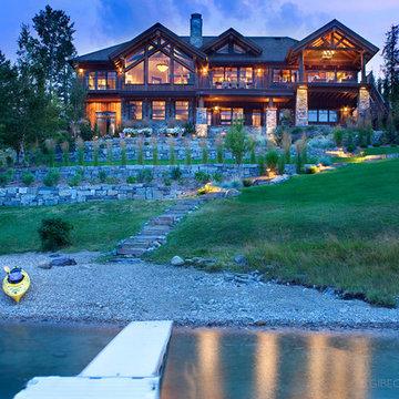 Whitefish, Montana Private Lake House Remodel