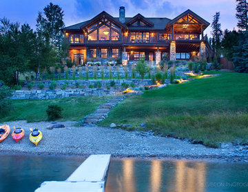 Whitefish, Montana Private Lake House Remodel
