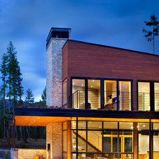 Contemporary Exterior by CTA Architects Engineers