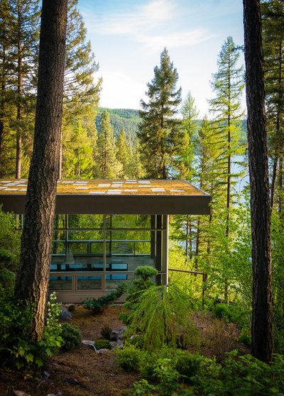 Contemporary Exterior by Envi Interior Design Studio