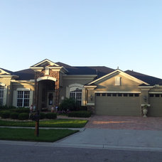 Traditional Exterior by Aderhold Roofing & Construction