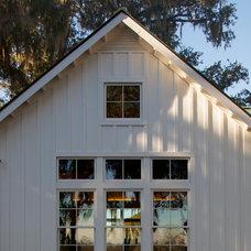 Farmhouse Exterior by SGA Architecture