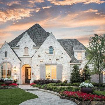 Whitley Place // Prosper, TX // Huntington Homes // Plan 6181