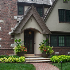 Traditional Exterior by Michael Given Environments, LLC