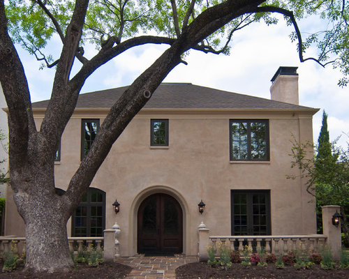 Stucco Over Brick Home Design Ideas Pictures Remodel And