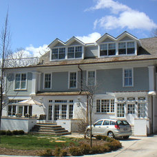 Traditional Exterior by Sherman Construction LLC