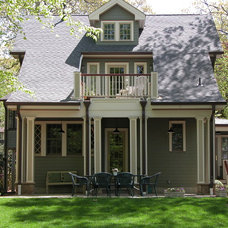 Traditional Exterior by Lineworks Architecture and Design LLC
