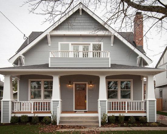 craftsman exterior home design ideas, remodels & photos