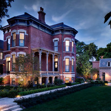 Traditional Exterior by Buckingham Interiors + Design LLC