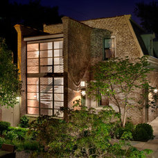Eclectic Exterior by Vinci | Hamp Architects