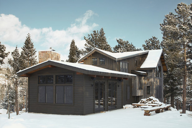 Rustic Exterior by Caddis, PC