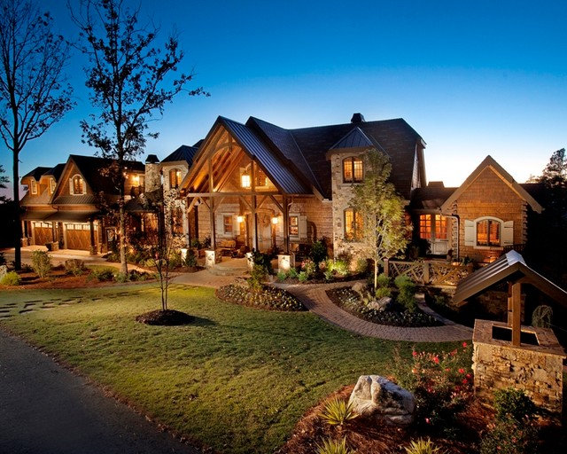 Traditional Exterior by Modern Rustic Homes