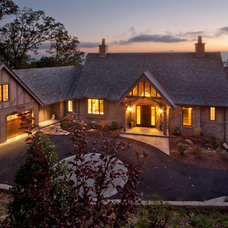 Traditional Exterior by Samsel Architects