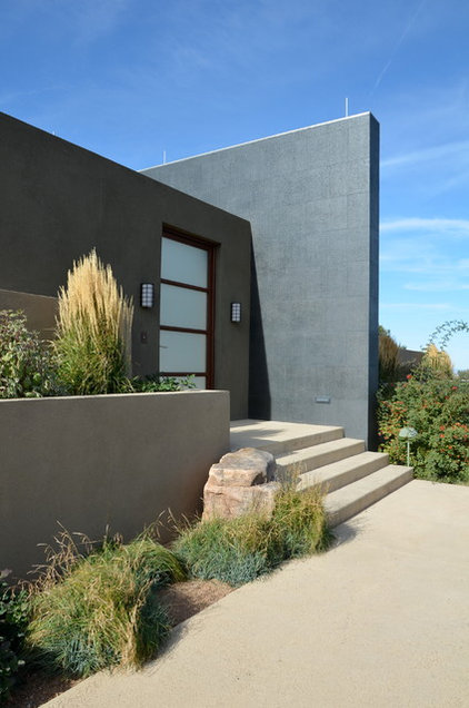 Contemporary Exterior by Robin Gray Architect, llc