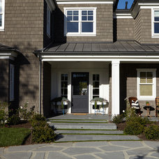 Transitional Exterior by Brooke Wagner Design