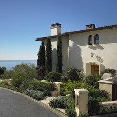 Mediterranean Exterior by Studio William Hefner