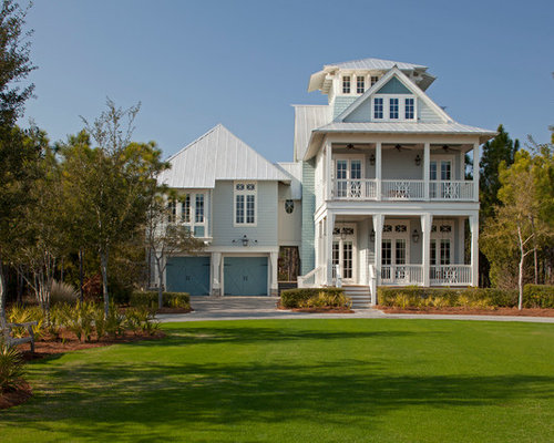Blue Exterior Paint Color Houzz