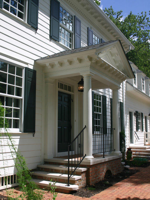 Colonial Porch Ideas Pictures Remodel And Decor