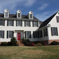 Traditional Exterior by Sara Ballinger - 1130 Creative, LLC
