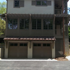 Traditional Exterior by White Oak Custom Builders