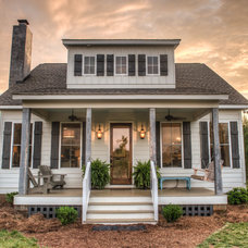 Traditional Exterior by Vin Yet Architecture
