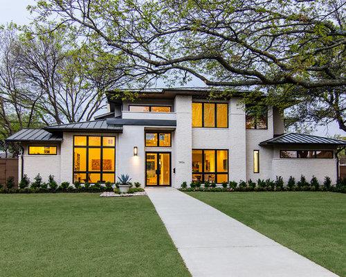 Contemporary Dallas Exterior Design Ideas Remodels Photos