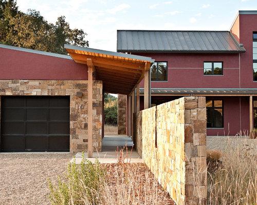 Pergola Connecting Garage To House Home Design Ideas