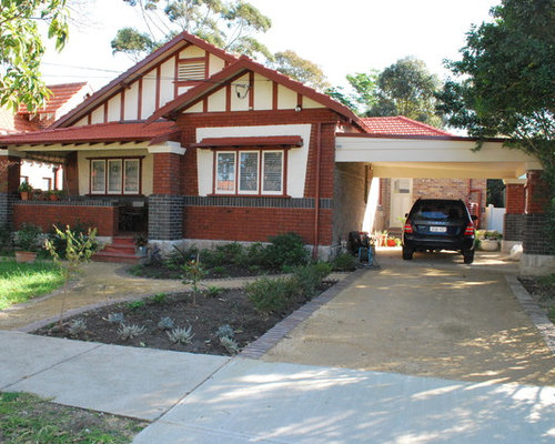 california bungalow with carport ideas pictures remodel and decor. Black Bedroom Furniture Sets. Home Design Ideas
