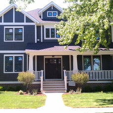Traditional Exterior by Lynch Partners