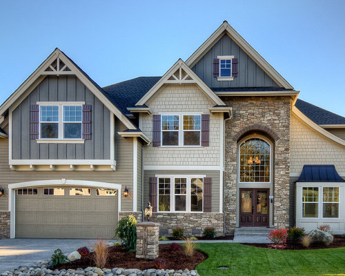 Bohemian style exterior design ideas renovations photos for Exterior design vancouver wa
