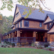 Traditional Exterior by Cugno Architecture