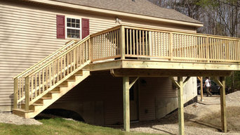 Windham, Maine Deck Addition