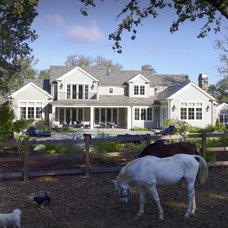 Traditional Exterior by Simpson Design Group Architects