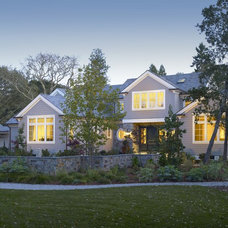 Traditional Exterior by SDG Architecture, Inc.