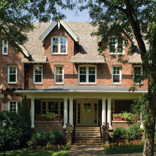 Traditional Exterior by Window Design Center